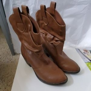 Xappeal Size 9 Conac Brown Brooks Cowboy boots